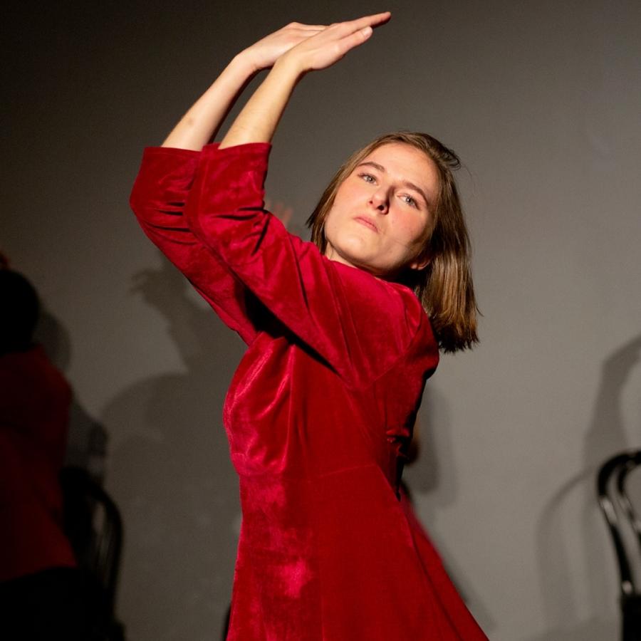 Danselinjen på Solbakken Folkehøgskole