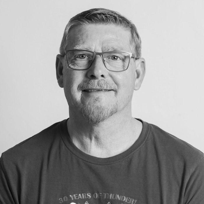 Bård Skjelstad, kjøkkensjef på Solbakken Folkehøgskole